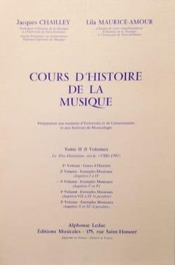 Cours d'histoire de la musique : Tome 2 vol. 3 laflutedepan