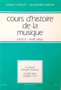Cours d'histoire de la musique : Tome 2 vol. 2 laflutedepan