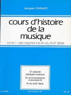 Cours d'histoire de la musique : Tome 1 vol. 5 - laflutedepan.com