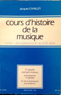 Cours d'histoire de la musique : Tome 1 vol. 4 laflutedepan