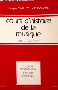 Cours d'histoire de la musique : Tome 3 vol. 3 laflutedepan