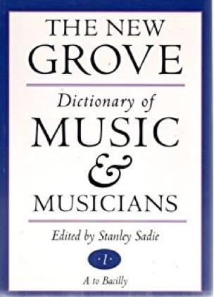 The new Grove Dictionary of Music & Musicians - laflutedepan.com