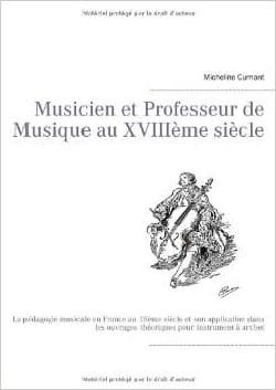 Musicien et professeur de musique au XVIIIe laflutedepan