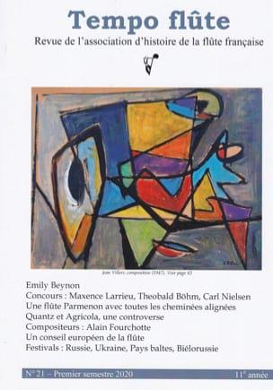 Tempo flûte, n° 21 (Premier semestre 2020) Revue Livre laflutedepan