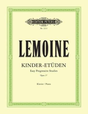 50 Etudes Opus 37 Henry Lemoine Partition Piano - laflutedepan