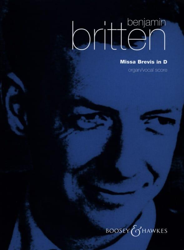 Missa Brevis In D Opus 63 - BRITTEN - Partition - laflutedepan.com
