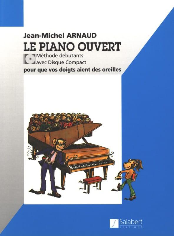 Le Piano Ouvert - Jean-Michel Arnaud - Partition - laflutedepan.com