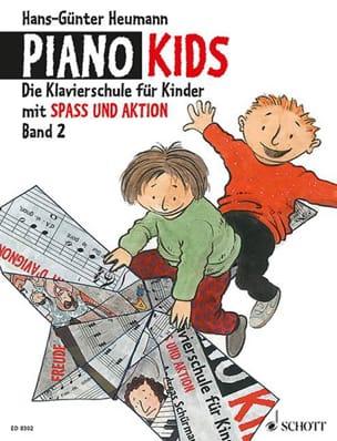 Piano Kids volume 2 Hans-Günter Heumann Partition laflutedepan