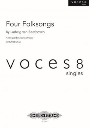 Four Folksongs - BEETHOVEN - Partition - Chœur - laflutedepan.com