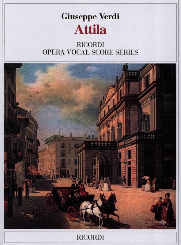Attila - VERDI - Partition - Opéras - laflutedepan.com