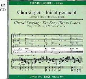 Elias Opus 70. 2 CD Basse CHOEUR - MENDELSSOHN - laflutedepan.com
