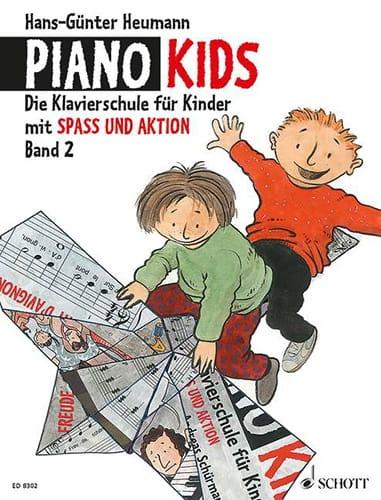 Piano Kids volume 2 - Hans-Günter Heumann - laflutedepan.com