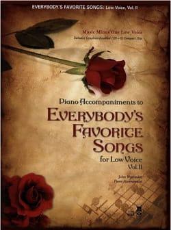 Everybody's Favorite Volume 2 + CD. Voix grave - laflutedepan.com