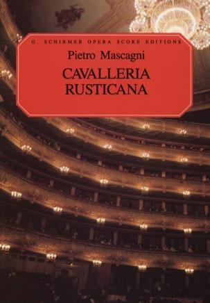 Cavalleria Rusticana Pietro Mascagni Partition Opéras - laflutedepan