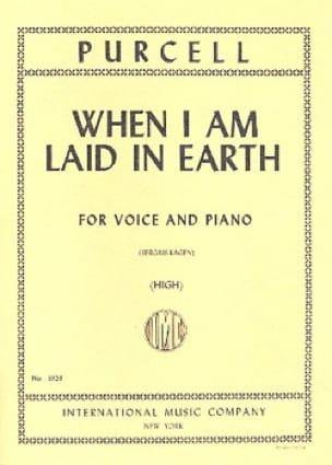 When I Am Laid In Earth. Didon et Enée - PURCELL - laflutedepan.com