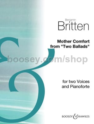 Mother Comfort BRITTEN Partition Duos - laflutedepan