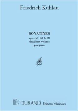 Friedrich Kuhlau - Sonatines Volume 2 - Partition - di-arezzo.co.uk