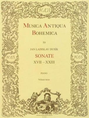 Sonates Volume 3 Jan Ladislav Dussek Partition Piano - laflutedepan