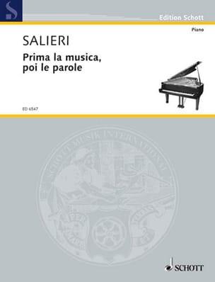 Prima la Musica, Poi le Parole SALIERI Partition Opéras - laflutedepan