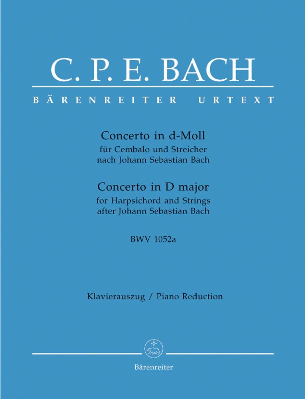 Concerto En Ré Mineur Bwv 1052a - laflutedepan.com