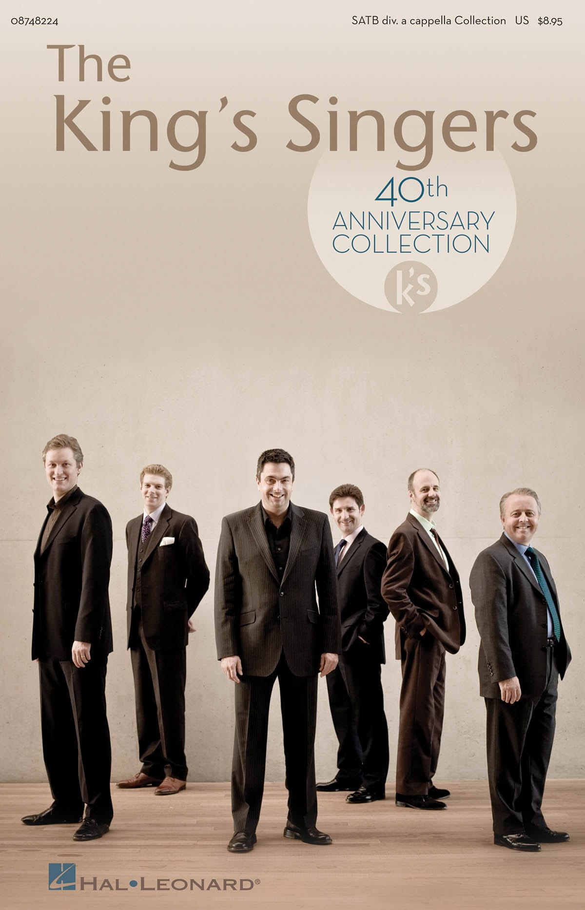 The King's Singers 40th Anniversary - Partition - laflutedepan.com