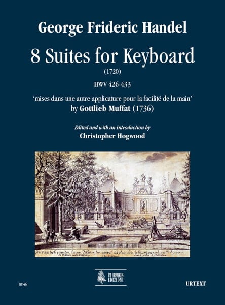 8 Suites For Keyboard - HAENDEL - Partition - laflutedepan.com