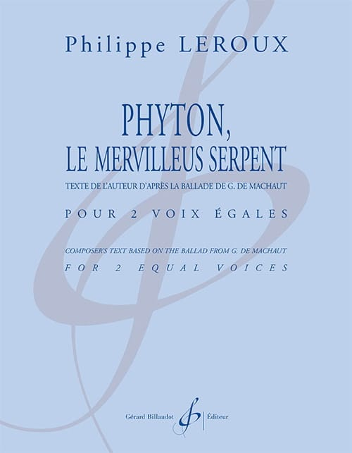 Phyton, le merveilleus serpent - Philippe Leroux - laflutedepan.com