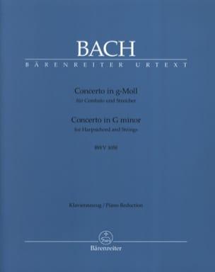 Concerto Pour Clavier En Sol Mineur Bwv 1058 BACH laflutedepan