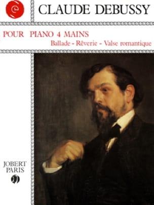 Pour Piano. 4 Mains - DEBUSSY - Partition - Piano - laflutedepan.com