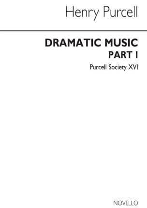 Dramatic Music Part 1 PURCELL Partition Opéras - laflutedepan