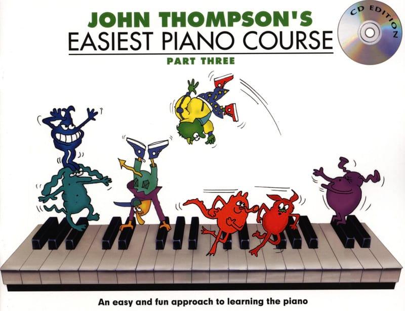 Easiest Piano Course Volume 3 avec CD - laflutedepan.com