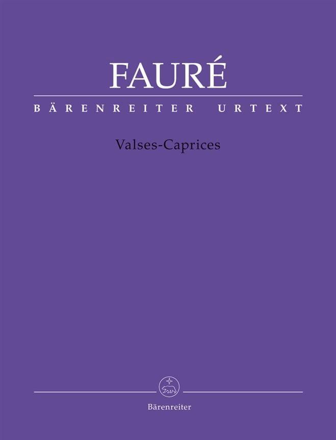 Valses-Caprices - FAURÉ - Partition - Piano - laflutedepan.com