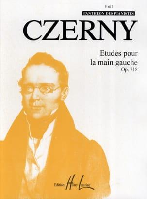 Etudes Main Gauche Opus 718 CZERNY Partition Piano - laflutedepan