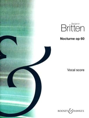 Nocturne Opus 60 - BRITTEN - Partition - Mélodies - laflutedepan.com
