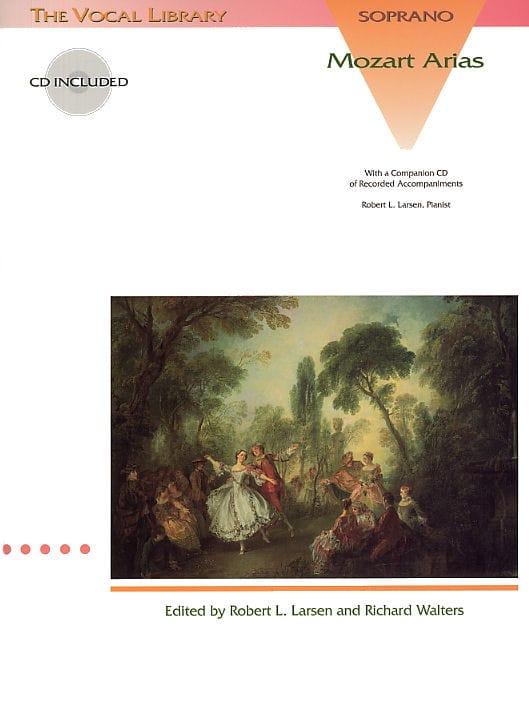 Mozart Arias. Soprano - MOZART - Partition - Opéras - laflutedepan.com