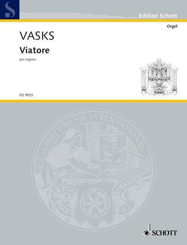 Viatore - Peteris Vask - Partition - Orgue - laflutedepan.com