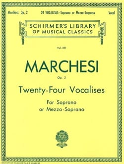 24 Vocalises Opus 2 Mathilde Marchesi Partition laflutedepan