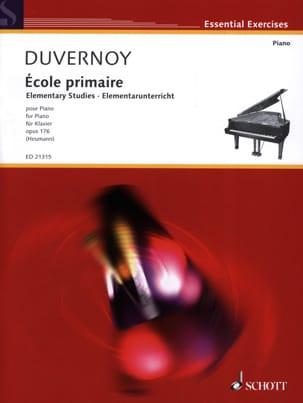 Jean-Baptiste Duvernoy - Escuela Primaria Opus 176 - Partition - di-arezzo.es