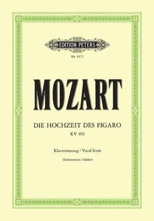 Les Noces de Figaro K 492 MOZART Partition Opéras - laflutedepan