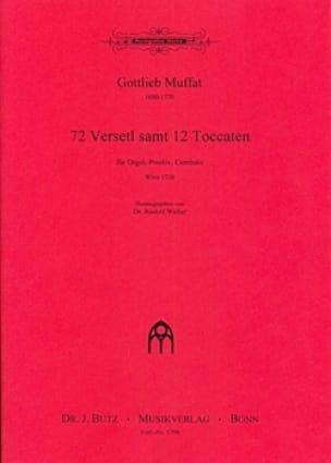 72 Verseti Samt 12 Toccaten - Gottlieb Muffat - laflutedepan.com