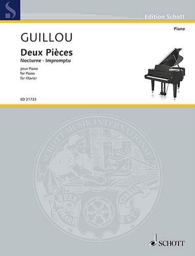 Deux pièces - Jean Guillou - Partition - Piano - laflutedepan.com