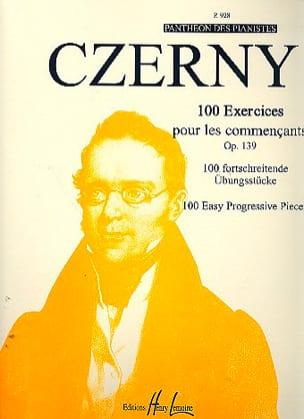 100 Exercices Pour les Commençants Opus 139 CZERNY laflutedepan