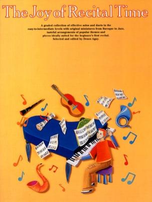 Joy Of Recital Time Partition Piano - laflutedepan