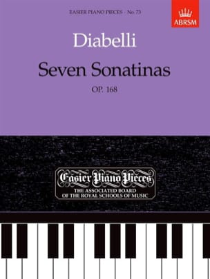 7 Sonatines Opus 168 DIABELLI Partition Piano - laflutedepan