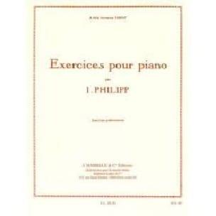 Exercices Préliminaires - Isodore Philipp - laflutedepan.com