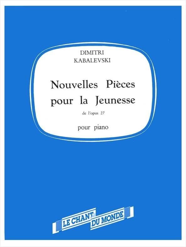 Nouvelles Pièces Pour la Jeunesse Opus 27 Volume 2 - laflutedepan.com
