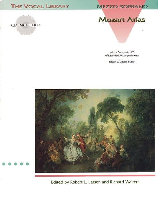 Mozart Arias. Mezzo - MOZART - Partition - Opéras - laflutedepan.com