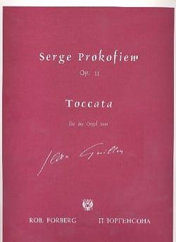 Toccata Opus 11. Orgue PROKOFIEV Partition Orgue - laflutedepan