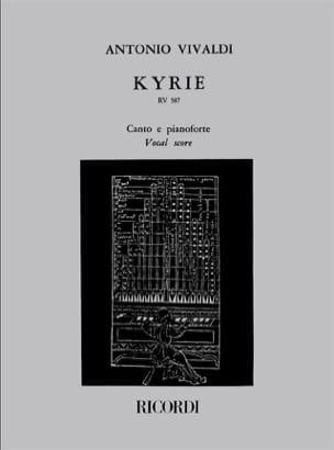 Kyrie VIVALDI Partition Chœur - laflutedepan