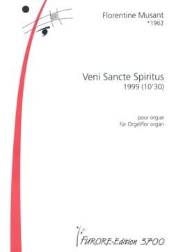 Veni Sancte Spiritus Florentine Mulsant Partition Orgue - laflutedepan